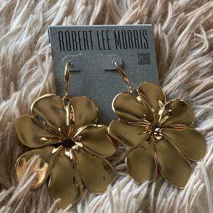 Robert Lee Morris Flower Earrings